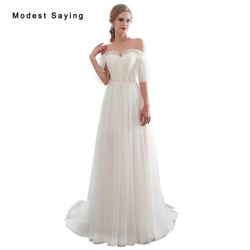 e71196252 Cheap Elegante Sheer Sweetheart Champagne y marfil encaje vestido de novia  2018 con media manga Formal