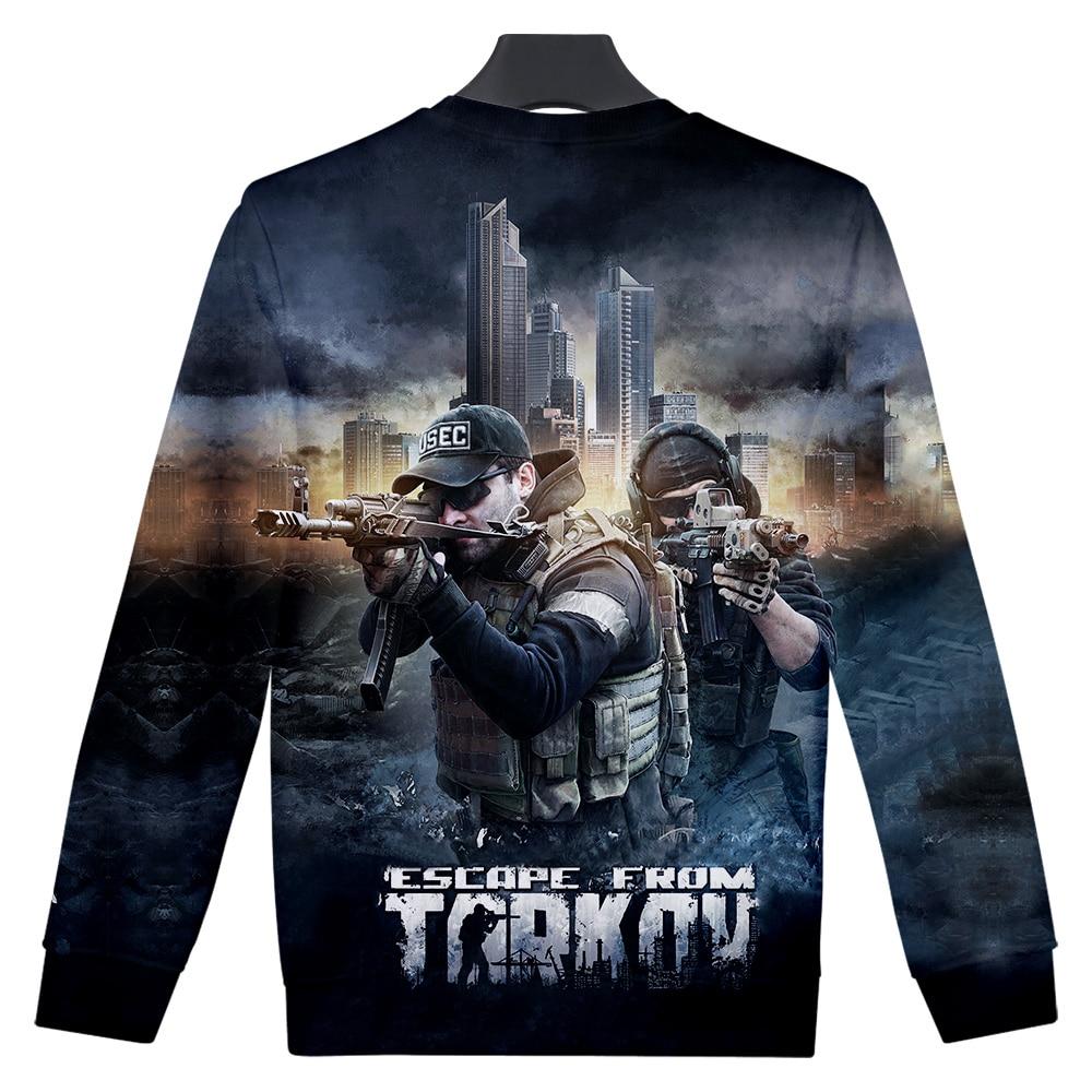 Escape From Tarkov Nieuwste Model Printed 3d Sweatshirts Mouwen Hot Shooting Game Casual 3d Battle Sweatshirt Women