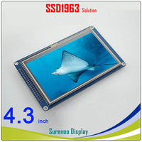 4.3 inch 480*272 TFT Touch LCD Module Display Screen Panel with PCB Adapter Build in SSD1963 Controller for STM32/51/AVR