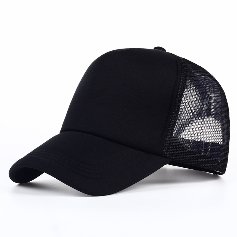 b3f5269d VORON 6 color Cheap Mens Plain Trucker Hats for Spring Summer Womens Blank  Mesh Snapback Caps Men Foam Net Snap Back Cap