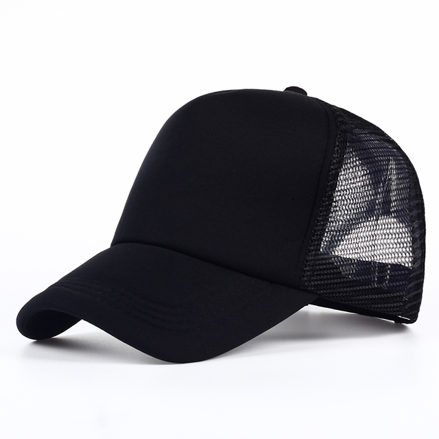 f4b9f4e3b8d VORON 6 color Cheap Mens Plain Trucker Hats for Spring Summer Womens Blank  Mesh Snapback Caps Men Foam Net Snap Back Cap