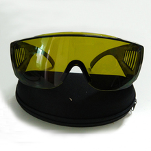 цены Laser Safety Glasses for 190-450nm and 850-1300nm lasers Optical density >4 CE certified  big frame