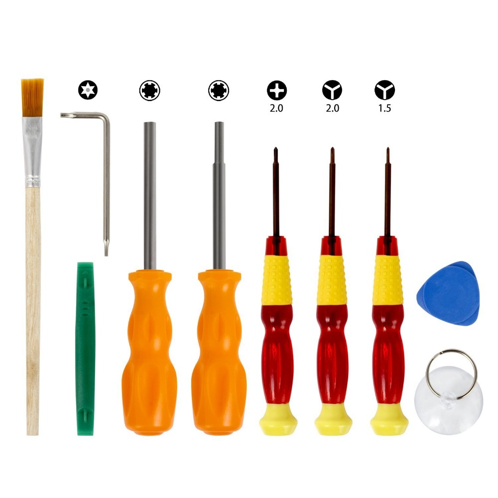Keten Repair Security Bit Screwdriver tools Triwing for Nintendo Nintend Switch NES SNES N64 DS Lite GBA Gamecube and Consoles