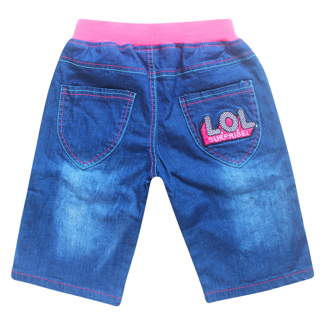 2018 lol roblox Cotton pine tight jeans shorts childrens fashion girl fashion girl fashion baby girl clothes girl dress