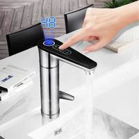 Kbxstart Home Kitchen Touch Faucet Hot Water Heating Tap With Electric Shower 220V Induction Heater Instantaneous Water Heaters