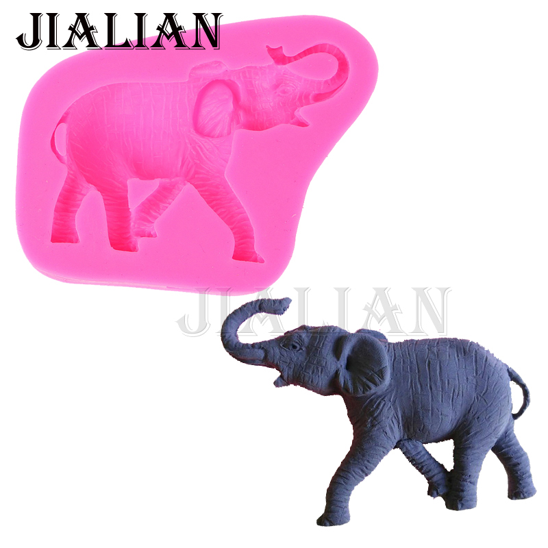 3d Animal Elephant Silicone Mold Fondant Cake Decorating Tools Cupcake Cookie Moulds Confeitaria Sugar Paste Baking Tools Xq32 Cake Molds