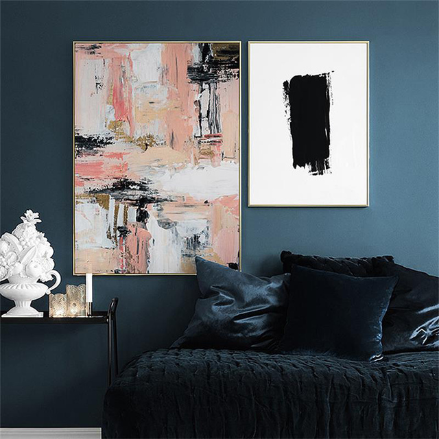 Nordic Fashion Vogue Simple Abstract Decoration Posters