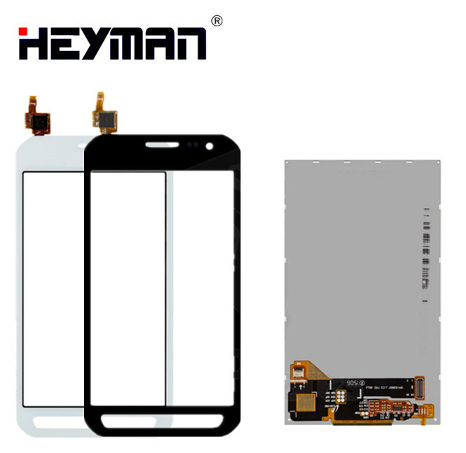 LCD with Touchscreen for Samsung Galaxy Xcover 3 G388 G388F G389F SM-G388F LCD display screen Digitizer Glass Panel Front