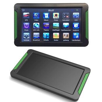 7 inch HD Car GPS Navigation touch screen FM 8GB GPS bracket holder stand Vehicle Truck GPS Car navigator Sat nav Lifetime Map