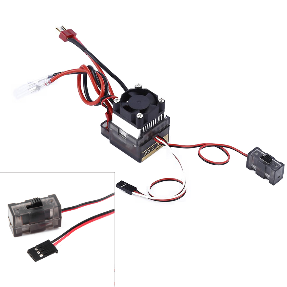 цена на 1pcs 320A High Voltage Brushed Speed Controller ESC For RC Car Truck Boat