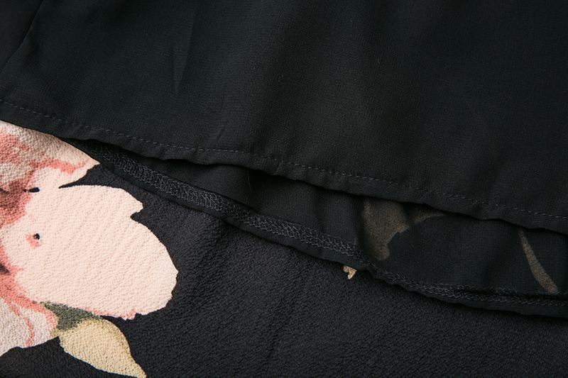 BONGOR LUSS Summer Maxi Dress Women Floral Print Dress V-Neck Sleeveless Spaghetti Strap Backless Side Split Sexy Long Dress (1)