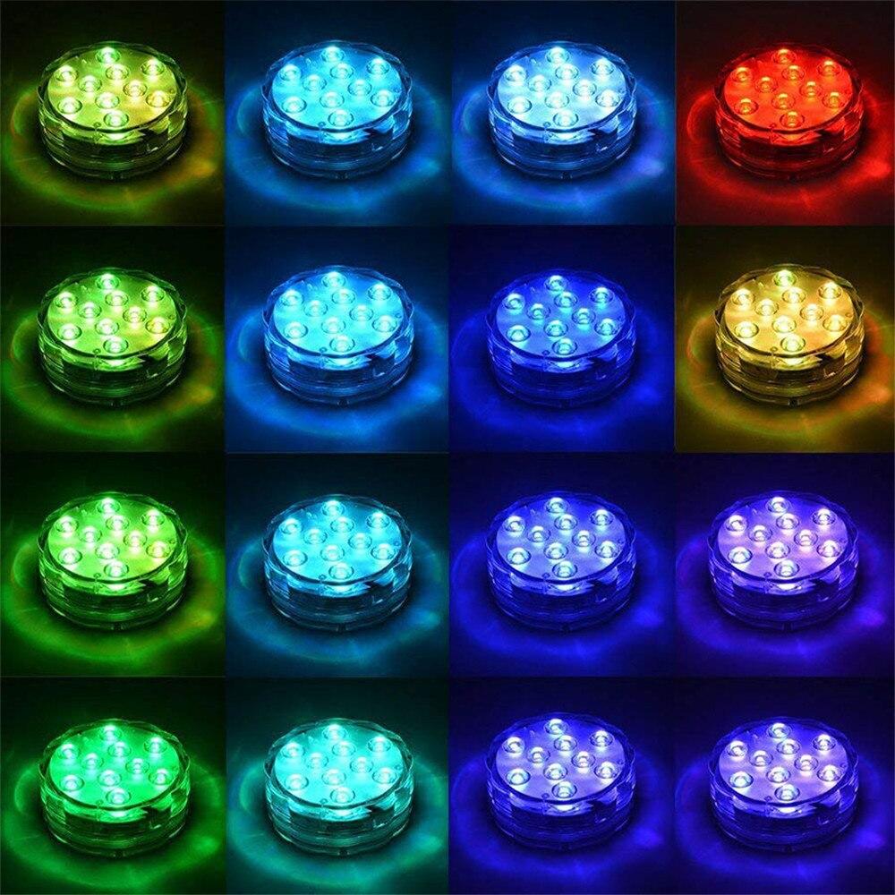 led submersiveis luzes debaixo d agua lampada 05