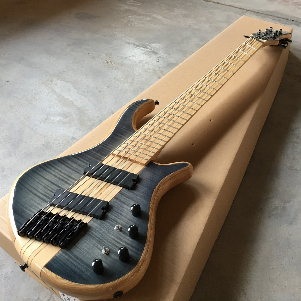 hot 6 string bass guitar. Good style. Good voice. Electric BAZZ Guitar Free shipping, real guitar photo human free shipping hot guitar electric guitar olp yellow white double shake guitar good quality beautiful