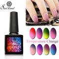 Saviland 10ml Temperature Thermo Gel UV Gel Soak Off Mood Change Nail Gel Polish Manicure Nail Gel 24 Colors Pick 1 Color