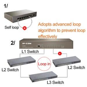 Image 5 - 8 יציאת Gigabit מנוהל שולחן עבודה lan ethernet רכזת rj45 מלא דופלקס 8 יציאת 10/100/1000 mbps רשת ethernet מתג