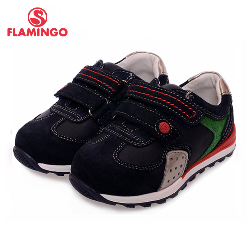 FLAMINGO 100% Russian Famous Brand 2016 New Arrival Spring & Autumn Kids shoes Fashion High Quality children sneakers XP5816