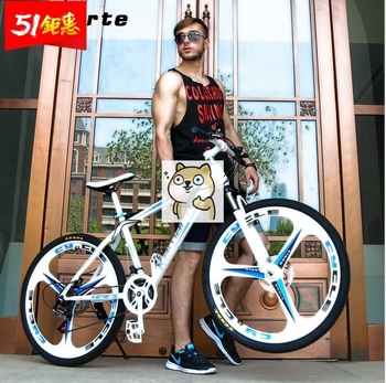Factory direct Kaimart mountain bike bicycle speed men and women adult off-road racing shock absorption