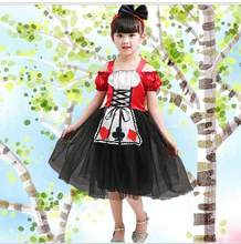 halloween costume for kids princess alice in wonderland costume girls kids  Lolita Maid Cosplay Fantasia Carnival fancy dress 823a891dff49