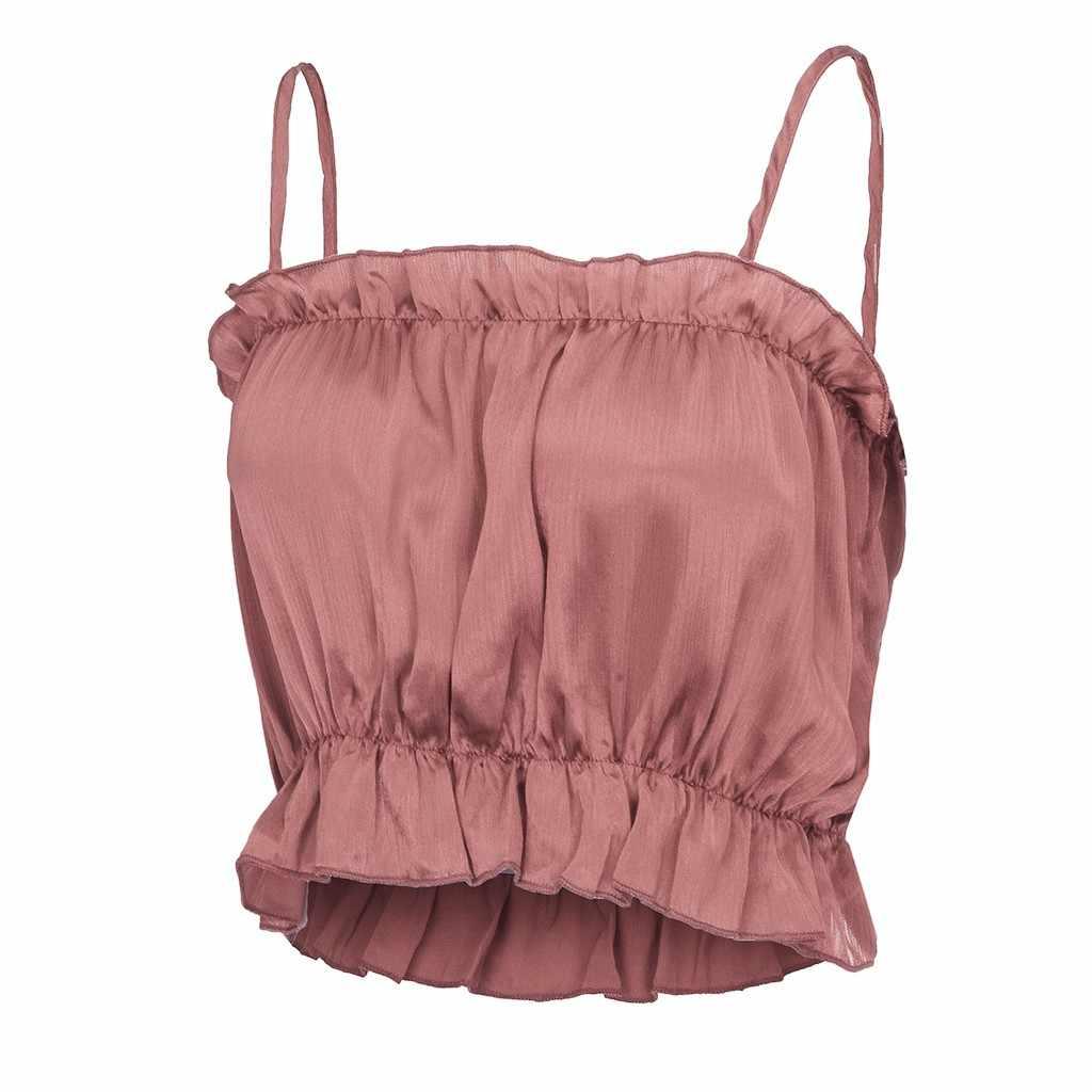 Sexy Tank Top Women Summer 2019 New Black Crop Top Streetwear Sleeveless Top Selling Product Crop Tops Women 2018 chemise femme
