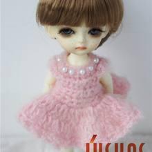 JD049 1/8 1/12 модный парик куклы прекрасный стиль Синтетический мохеровый парик s для куклы BJD 3-4 дюймов 4-5 дюймов 5-6 дюймов Аксессуары куклы