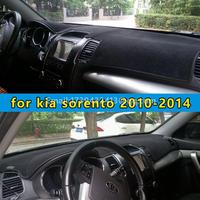 car dashmats car styling accessories dashboard cover for kia sorento 2010 2011 2012 2013 2014