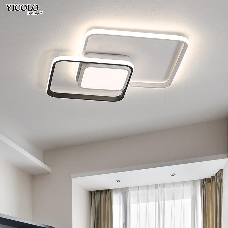 все цены на New design LED Ceiling Light For Living room Dining Bedroom luminarias para teto Led Lights For Home lighting fixture modern онлайн