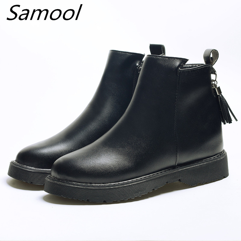 winter boots women heels ankle Boots waterproof slip on snow boots Platform spring non-slip Casual Shoes botas mujer xxz5 vtota women winter boots hot warm fur snow boots flat platform shoes women botas mujer ankle boots slip on shoes for women c72