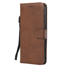For Huawei Honor 8A/Y6 2019/Y6 Pro 2019 Case Flip Cover Wallet Stand Pure Color PU Leather Mobile Phone Bags Coque Fundas for huawei honor 8a pro case flip wallet business leather coque phone case for honor 8a pro jat l41 cover fundas accessories
