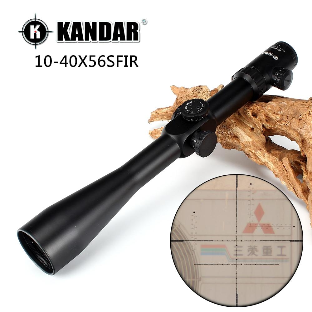 Kandar 10 40x56 sfir hunting shooting rifle scope glass for 10 x 40 window
