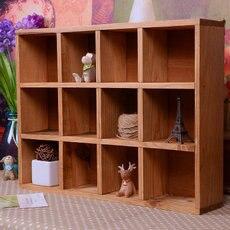 Basket Organizador Storage Box Zakka 12 Grids Wall Cabinet Condole Ark Locker Wood Desktop Perfume Cosmetics free Shipping ...
