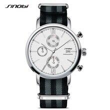Sinobi moda hombre relojes deportivos correa de la otan de nylon correa de reloj de los hombres reloj de pulsera de cuarzo de james bond 007 reloj relogio masculino