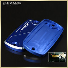 For HONDA ST1100 ST 1100 1991-2003 2002 Motorcycle Accessories Front Brake Clutch Cylinder Fluid Reservoir Cover Cap With Logo