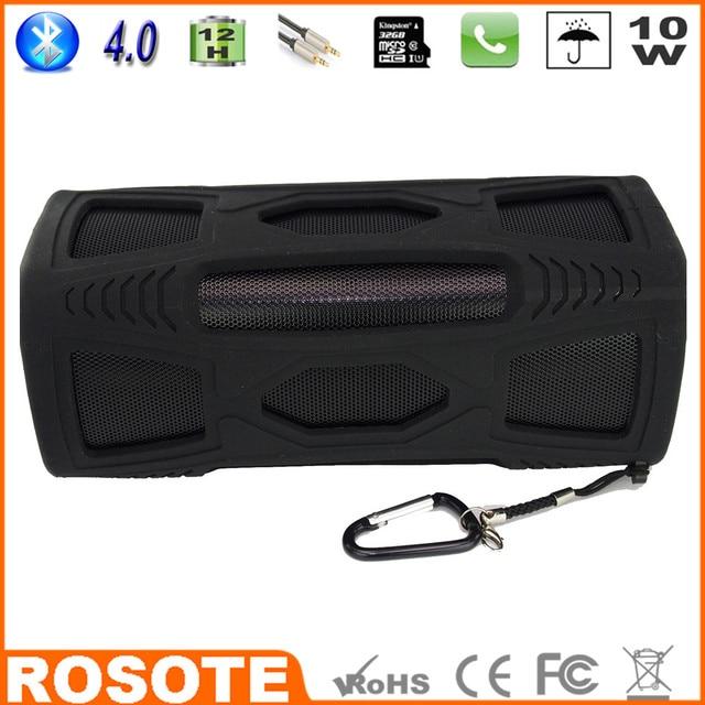 2015 Waterproof 10W Super Bass Portable HI-FI super bass edison professional Bluetooth 4.0 speaker