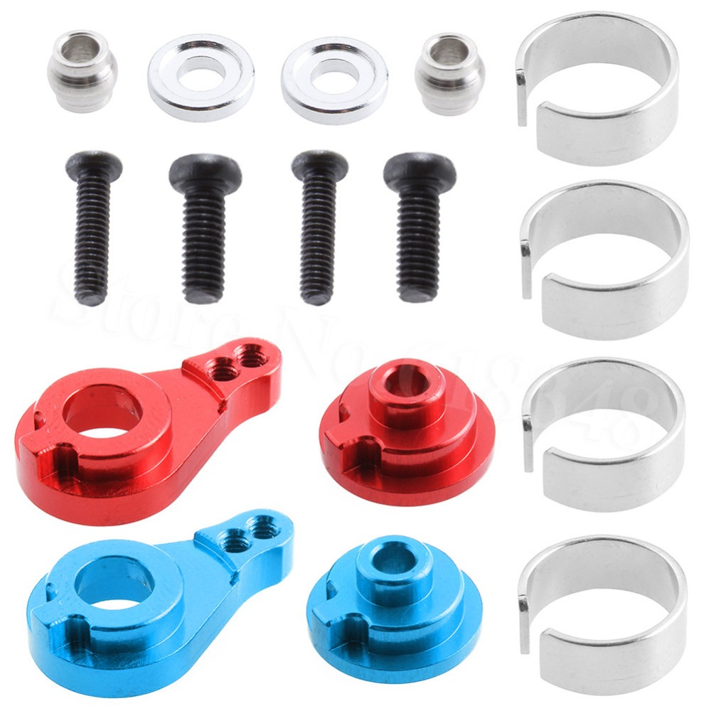 Aluminum Alloy Steering Servo Horn Arm 0033 For WLtoys 12428 12423 1/12 RC Car Crawler Short Course Truck Upgrade Parts