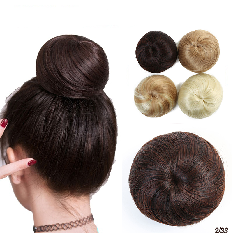 MUMUPI Chignons Elastic Scrunchie Extensions Hair Ribbon Ponytail Hair Bundles Updo Hairpieces Buns Drawstring   headwear