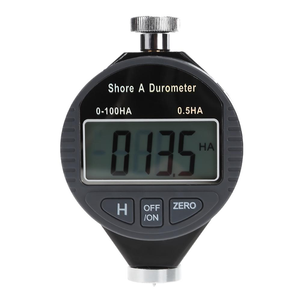 Digital A-type Hardness Tester Meter Durometer 0-100HA With Data Output Interface Rubber ShorePrecise Digital Hardmeter цена