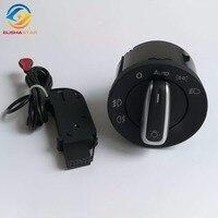 OEM Genuine Headlight Switch And Auto Head Light Sensor Used For VW Golf 5 6 MK5