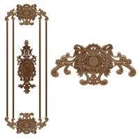 Runbazef estigma coluna de parede lareira decoração da casa do vintage acessórios maison estatuetas miniaturas madeira apliques|Estatuetas e miniaturas| |  -