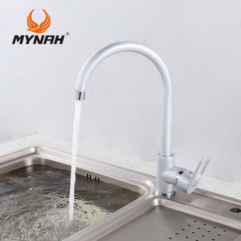 MYNAH Russia free shipping Newly Arrival Deck Mounted Kitchen Faucet Mixer Painting Faucet Tap wash basin mixer water tap M5906H mynah russia free shipping bathroom shower faucet bath faucet mixer tap with hand shower head set wall mounted mynah m3111