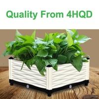 Planting box balcony vegetable pot extra large plastic flowerpot planting trough planter roof vegetable planting equipment