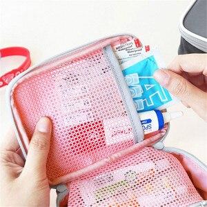 Image 3 - FOURETAW 1 Piece Creative Portable Travel Medical Kit Desk Mini First Aid Kit Sundries Storage Bags Outdoor Car First Aid Bag