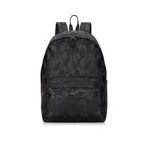 New Fashion Nylon Men Backpacks Large Capacity Travel Portable Boy Softback School Bags Shoulder Bag High Quality Black Backpack