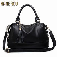 Sac A Main 2016 Women New Fashion Bowling Bag Spring PU Leather Woman Shoulder Bag Large