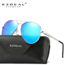 EZREAL Men HD Polarized Sunglasses Classic Men Women Retro Rivet Shades Brand Designer Sun glasses UV400 3025L