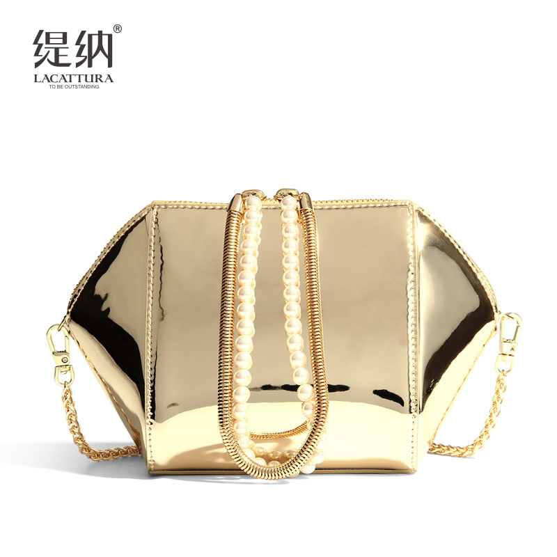 T0012 New Women's Flap Genuine Leather Shoulder bag Ladies Handbags Women Wings shell Messenger Bags Sac A Main Bolsas Femininas handbags women trapeze bolsas femininas sac lovely monkey pendant star sequins embroidery pearls bags pink black shoulder bag