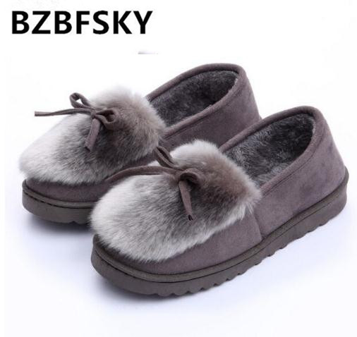 New 2016 women snow boots thick plush winter warm shoes fashion slip on flat waterproof women ankle boots cotton-padded shoes new winter children snow boots boys girls boots warm plush lining kids winter shoes