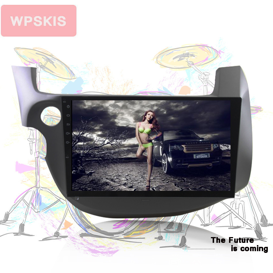 10 1 Android 9 0 Car DVD GPS for HONDA FIT JAZZ 2007 2008 2009 2010