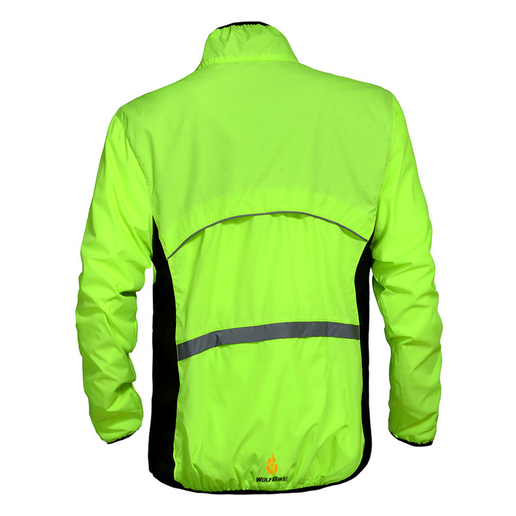 WOLFBIKE Cycling Jersey Men Riding Breathable Jacket Cycle Clothing Bike