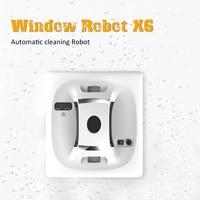 X6 окна робот пылесос Мокрый Сухой магнитного робот пылесос anti падения удаленного Управление Авто Окно Стекло стекла шайба