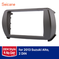 Seicane 2 Din Car Radio Fascia Frame For Suzuki Alto OEM No Gap Indash CD DVD Player Panel Trim Kits Installation Dashboard